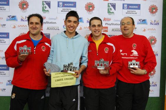 Cuadro Final IX Open de Madrid